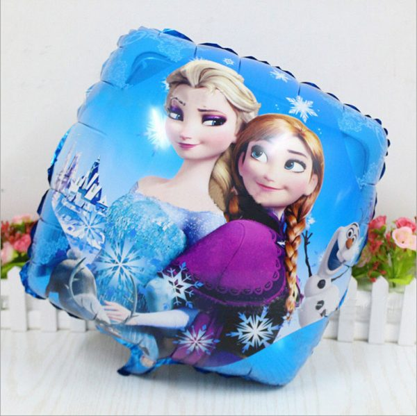 New-Princess-Elsa-Anna-Fever-Balloon-Happy-Birthday-Party-Decoration-font-b-Square-b-font-Foil
